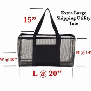 Extra Large Shopping Utility Tote